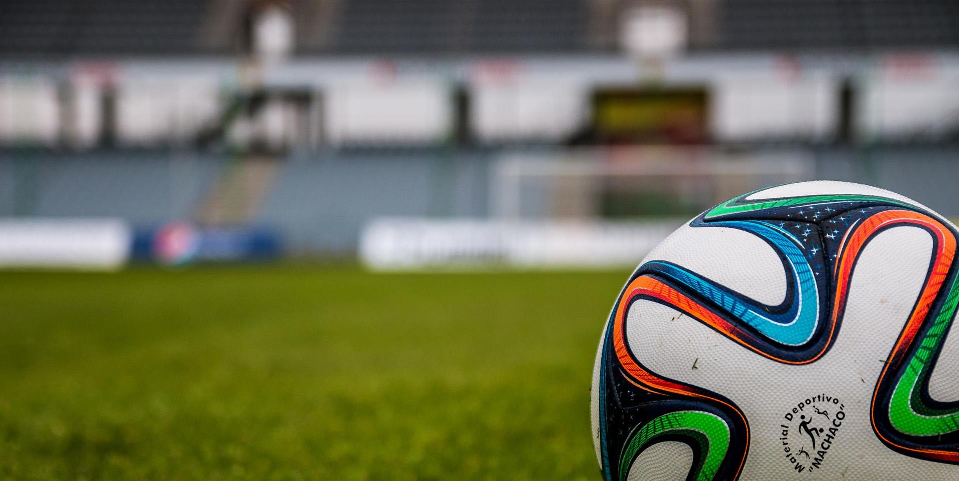 balón de futbol en Arnedo