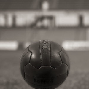 balon futbol vintage